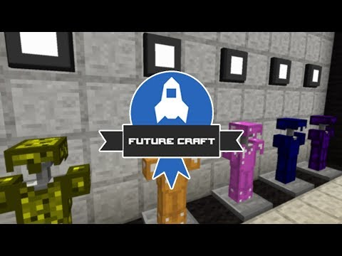 [GEJMR] FutureCraft - ep 122 - Armor místnost, Mob Spawnery a Portal Turrety