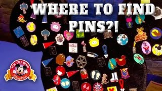 Where to find Trading Pins at Disneyland!