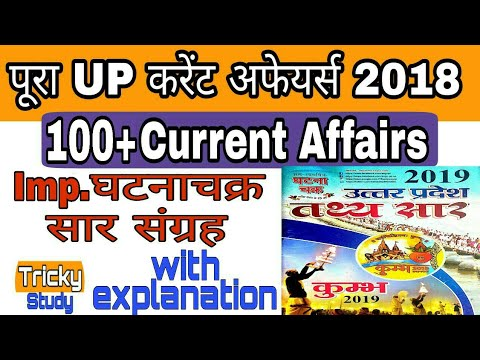 UP current affairs 2018 in hindi | UP current 2018 | UP special current affairs 2018 |