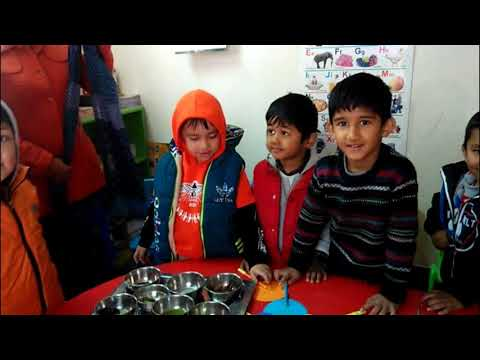 Challenge how our 5 senses works? Project Day at School with Sams Review, Education