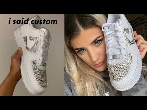 DIY/HOW TO: Customizing My Air Force 1's  👟💎