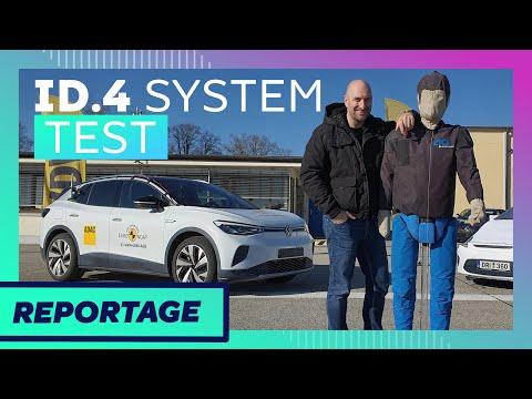 ADAC Elektroauto Crash-Check: Was der VW ID.4 kann & was nicht!