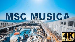 The MSC Musica in 4K