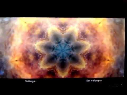 Video of Kaleidoscope Live Wallpaper