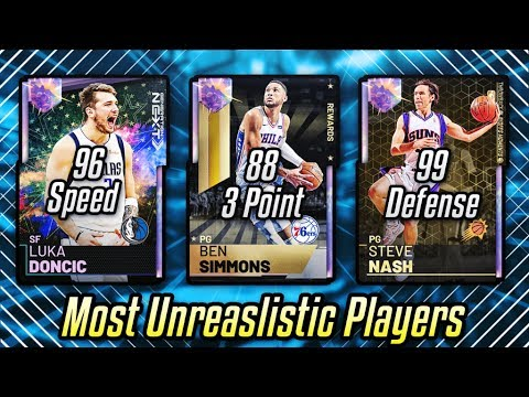 USING THE MOST UNREALISTIC CARDS IN NBA 2K19 MyTEAM!! | NBA 2K19 SQUAD BUILDER
