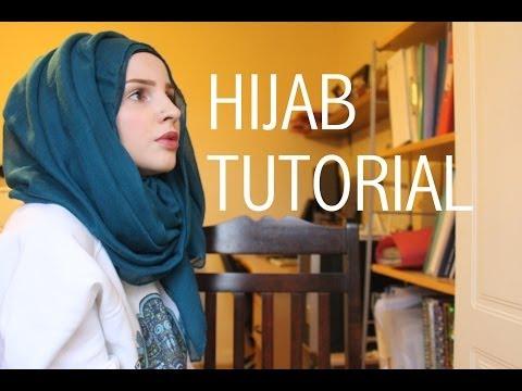 Video Simple hijab tutorial | Safiyahhh