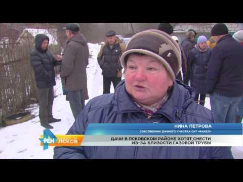 Новости Псков 31.01.2017 # Газпром против дачников