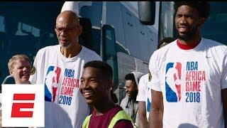 Joel Embiid, Kareem Abdul-Jabbar among NBA stars helping to build homes in South Africa   ESPN