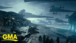 Entertainment Weekly goes behind the scenes of 'The Rise of Skywalker' l GMA