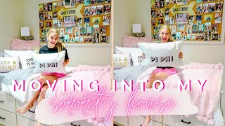COLLEGE MOVE IN VLOG | MOVING INTO MY SORORITY HOUSE | University of Alabama Pi Beta Phi