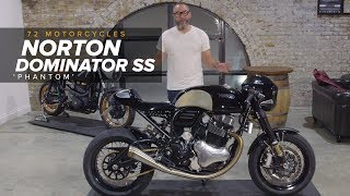Norton Dominator SS 'Phantom' By 72 Motorcycles
