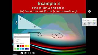 Trigonometry Objective 16 Right Triangles And Trig Functions