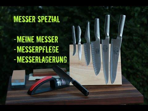 Messer Spezial: Alles über meine Messer, Messerpflege und Lagerung