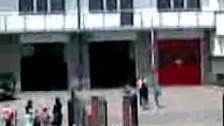 preview picture of video 'OSP MSZANA DOLNA SYRENA STRAŻACKA ALARMOWO DO SAMOCHODU W RZECE 15.06.2010r.'