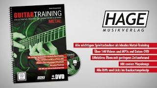 Guitar Training Metal  1