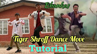 Tiger Shroff Dance Move Tutorial - Bhankas | Step By Step | Shraddha Kapoor | Baaghi 3