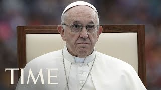 While In Ireland, Pope Francis Says He Shares Outrage Over Clergy Abuse Cover-Up | TIME
