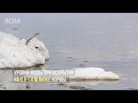 Невероятно зрелищно: Ледоход на Лене (ВИДЕО)   ЯСИА