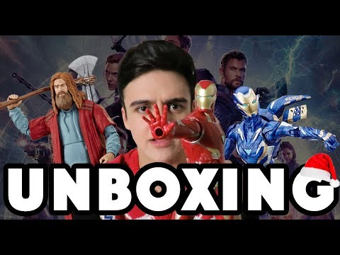 UNBOXING NAVIDEÑO DE MARVEL / NAVY