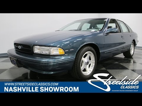 Video of '96 Impala SS - JKX4