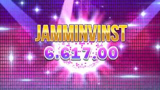 INCREDIBLE JAMMIN JARS 1000x WIN €20 BETS