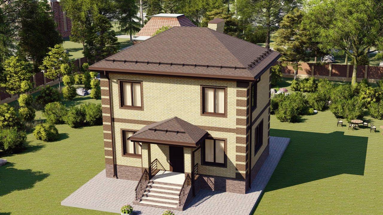 Проект дома эконом-класса 81м2