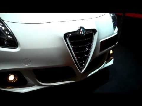 Alfa Romeo Guilietta walkaround at Paris