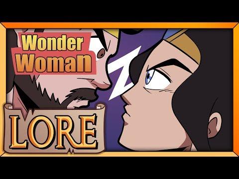 WONDER WOMAN: Diana of Themyscira   LORE in a Minute!   DC Comics Heroine   Sara Secora   LORE
