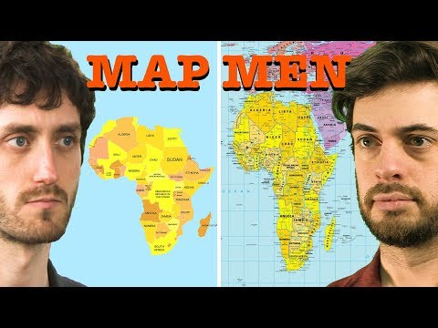 Mapmen: Why every world map is wrong