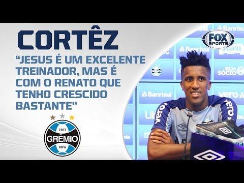 GRÊMIO AO VIVO! Em preparação para partida contra o Flamengo, Cortêz concede entrevista