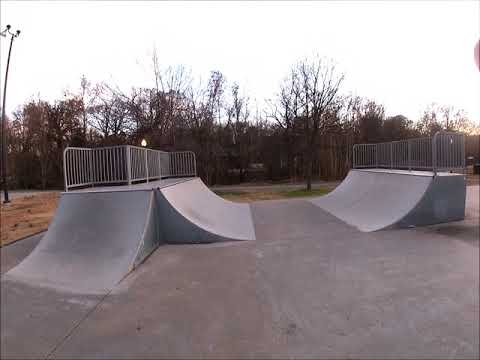Skatepark Review With George @Siloam Springs,AR