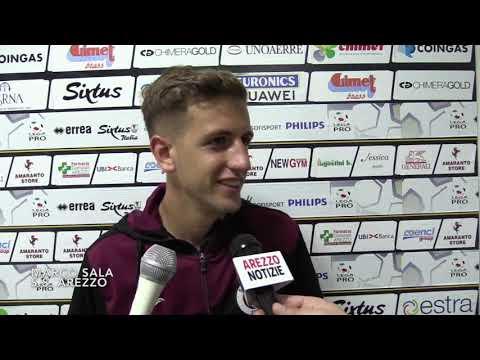 Play-off / Arezzo-Viterbese 3-0, intervista a Marco Sala