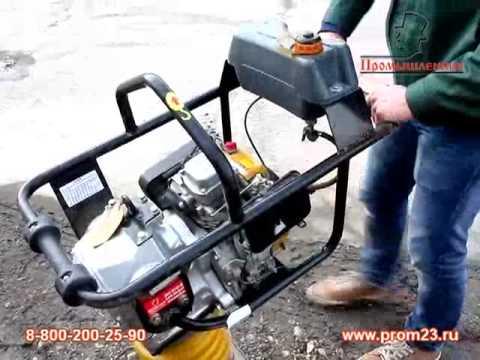 Бензиновая вибротрамбовка HCR 80 LONCIN GX-160