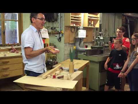 Made in chez nous (Doubs) - Sauge ou la visite d'entreprise côté artisans du bois