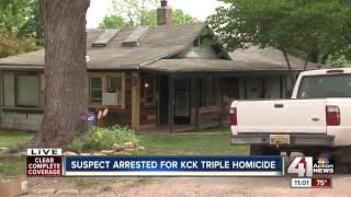 Suspect Arrested In KCK Triple Homicide