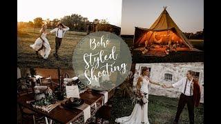 Hippie Tipi Boho Wedding - Styled Shoot