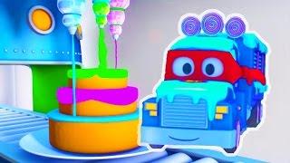 Трансформер Карл и Мороженое Грузовик в Автомобильном Городе| Мультик про машинки для детей