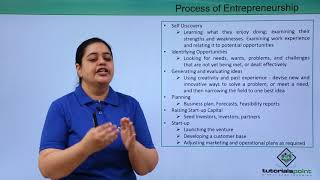 Process of Entrepreneurship
