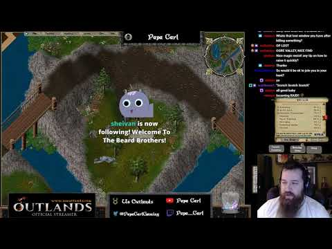 UO Outlands! Grinding for skills and gold! Then! Dungeon