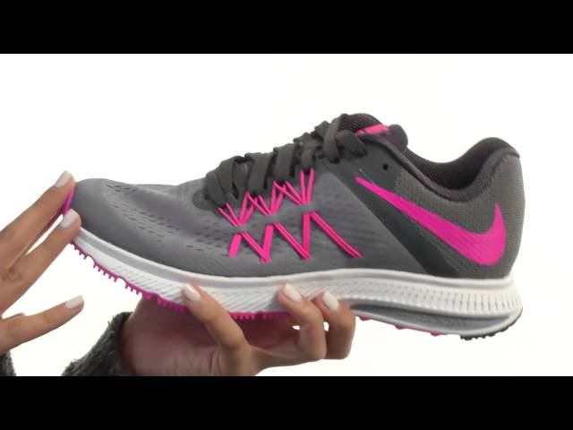 Nike Air Zoom Winflo 3 Women's Running Shoes Bright Crimson