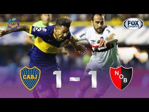 EMPATE EM LA BOMBONERA! Veja os gols de Boca Juniors 1x1 Newell's Old Boys