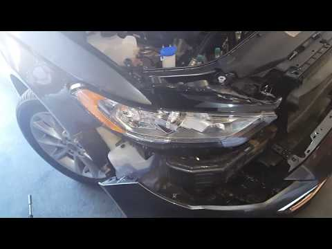 How to add front led turn signal on a 17 ford fusion
