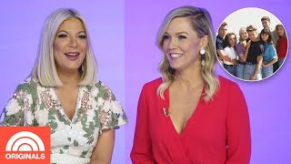 Jennie Garth & Tori Spelling Reveal '90210' Favorite Moments | TODAY