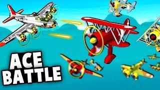 Intense Ace Pilot Battle! Shooting Down German WW2 Planes! (Bomber Crew USAAF DLC Gameplay)