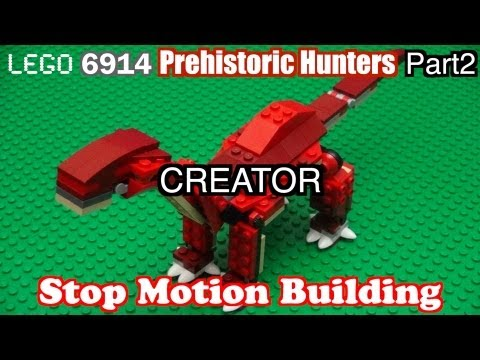 Vidéo LEGO Creator 6914 : Le T-Rex