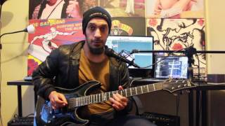 How to play 'Malagueña Salerosa' by Avenged Sevenfold Guitar Solo Lesson w/tabs