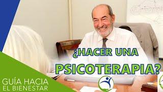 ¿Para qué sirve la psicoterapia? - Julio Herrero Lozano