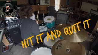 Hit It and Quit It [Funkadelic] HD Drum Cover