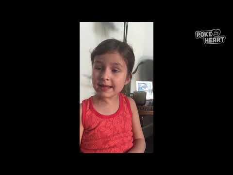 סרטון חמוד של ילדה משעשעת עם הרבה חכמת חיים