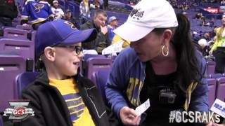 Random Acts of Kindness: Blues Fans Get A Seat Upgrade!!